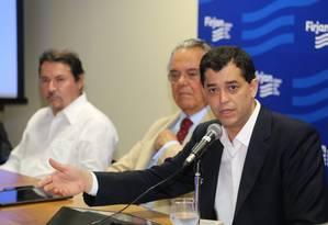 Indio da Costa participa de encontro com empresários na Firjan Foto: Divulgação