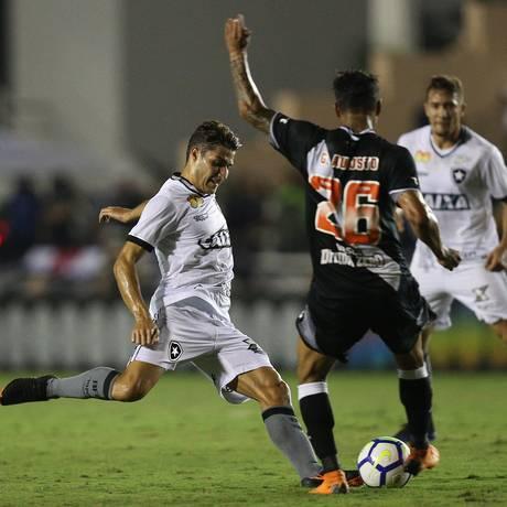 Botafogo e Vasco se enfrentaram no primeiro turno em São Januário Foto: VITOR SILVA/SSPRESS/BOTAFOGO / VITOR SILVA/SSPRESS/BOTAFOGO