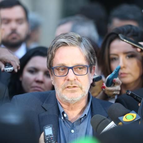 Roberto Leher diz esperar que a tragédia que se abateu sobre o Museu Nacional 'possa sacudir o Brasil' e critica a política pública para a área de cultura Foto: Fabiano Rocha / Agência O GLOBO