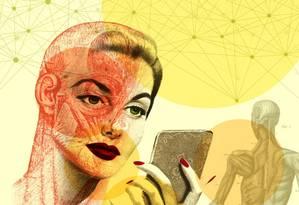 Botox para além das rugas Foto: Ilustração Silvana Mattievich