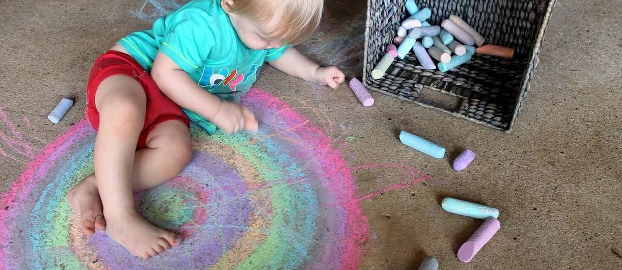 Atividades simples podem ajudar as crianças a lidar com a ansiedade Foto: Arquivo