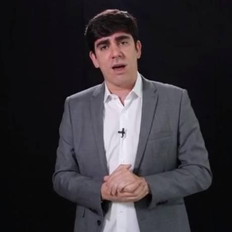 Marcelo Adnet encarna Ciro Gomes Foto: Reprodução de Vídeo