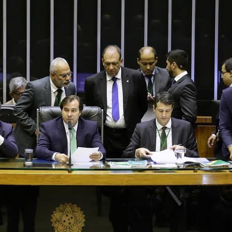 Plenário da Câmara dos Deputados, durante sessão Foto: Maryanna Oliveira/Câmara dos Deputados