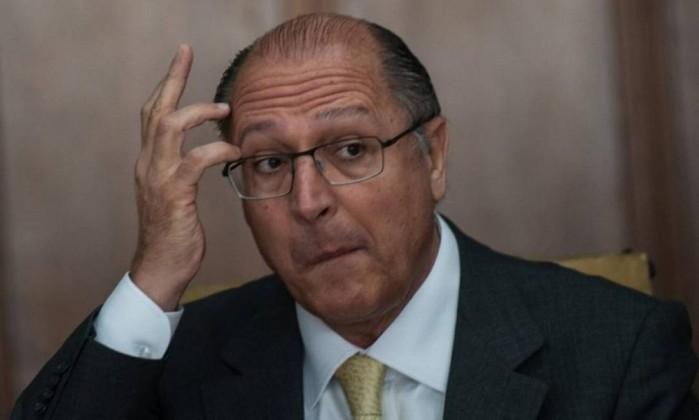 O candidato do PSDB à Presidência, Geraldo Alckmin Foto: Marcelo Camargo / Agência Brasil