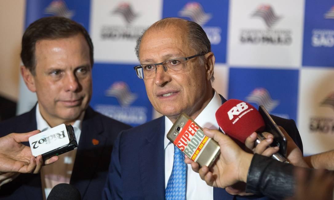 João Doria e Geraldo Alckmin Foto: Alexandre Carvalho / A2img / Flickr Governo do Estado de SP
