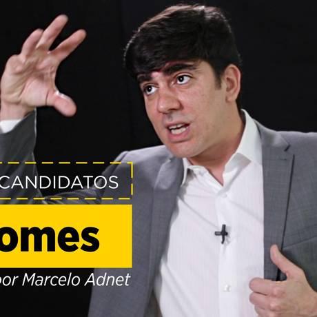 """O humorista Marcelo Adnet em vídeo da série """"Tutorial dos candidatos"""" Foto: Reprodução"""