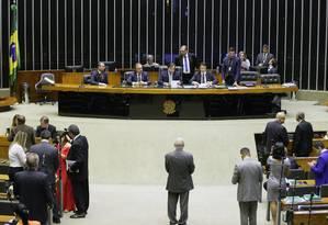 Avaliação é que haveria dificuldades para aprovação da reforma da Previdência ainda neste ano Foto: Maryanna Oliveira/Câmara dos Deputados