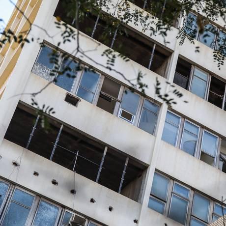 Instalações do Hospital Clementino Fraga, no Fundão, apresentam problemas Foto: Bárbara Lopes / Agência O Globo