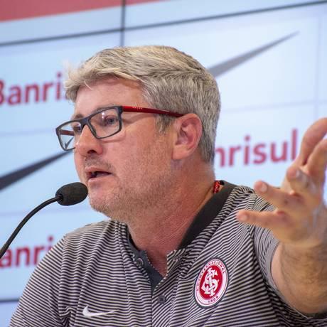 Odair Hellmann, técnico do Inter, foi efetivado em novembro do ano passado Foto: Pérsio Ciulla | TXT Sports