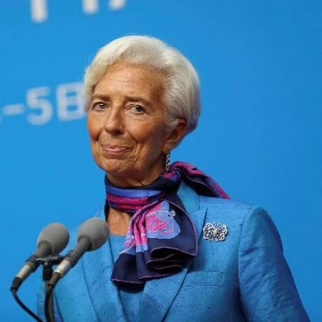 Christine Lagarde, diretora-gerente do FMI Foto: Reuters