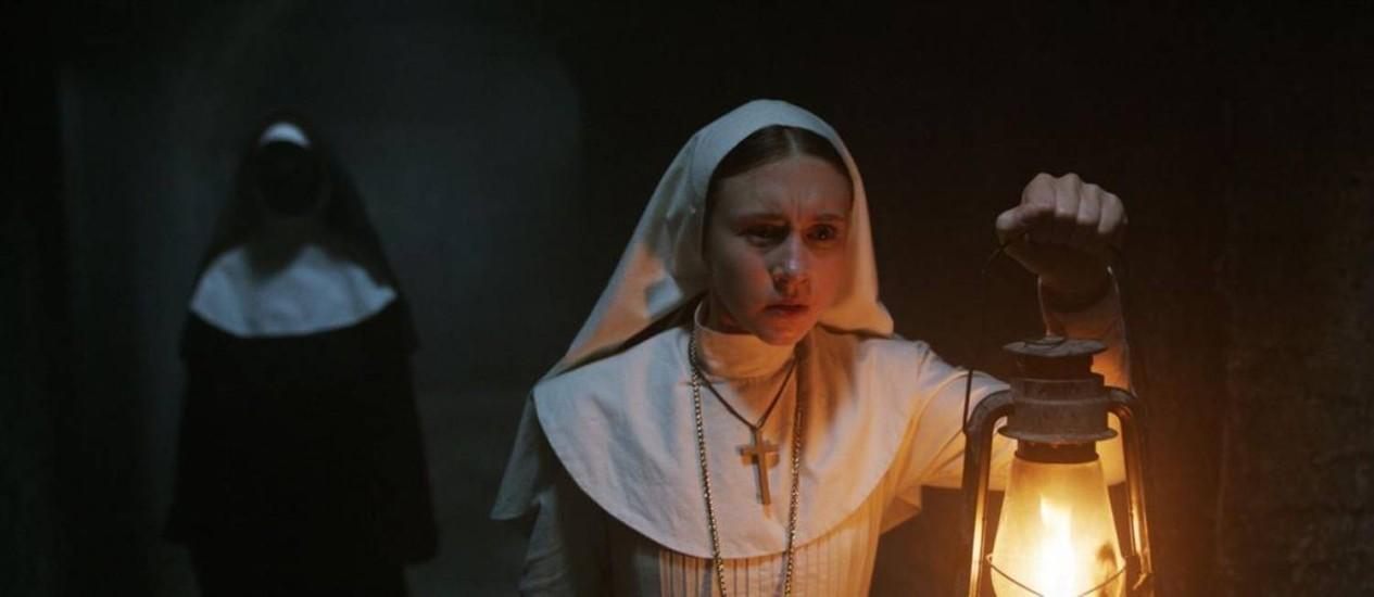 """Cena do filme """"A freira"""", de Corin Hardy Foto: Divulgação / Divulgação"""