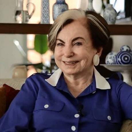 A atriz Beatriz Segall Foto: Reprodução do YouTube