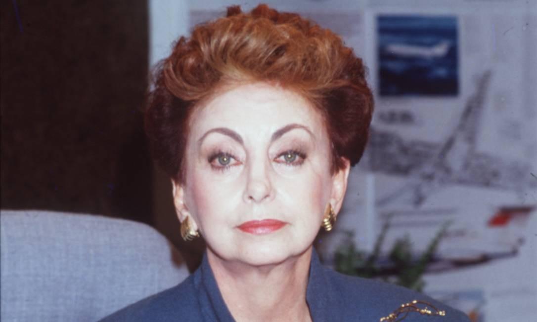 Beatriz Segall como Odete Roitman em 'Vale tudo', de 1988 Foto: Divulgação / Irineu Barreto