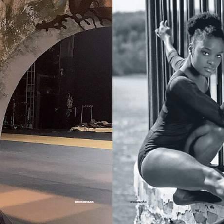 Bruna Gaglianone (à esq.) nasceu no Maranhão e vive e dança em Moscou; Ingrid Silva (à dir.) nasceu no Rio de Janeiro e vive e dança em Nova York Foto: Erick Swolkin/Divulgação