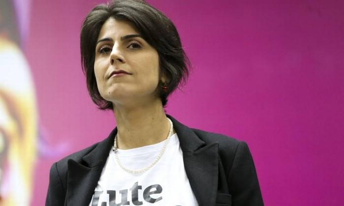 Manuela d'Ávila, do PC do B Foto: Marcelo Camargo / Agência Brasil