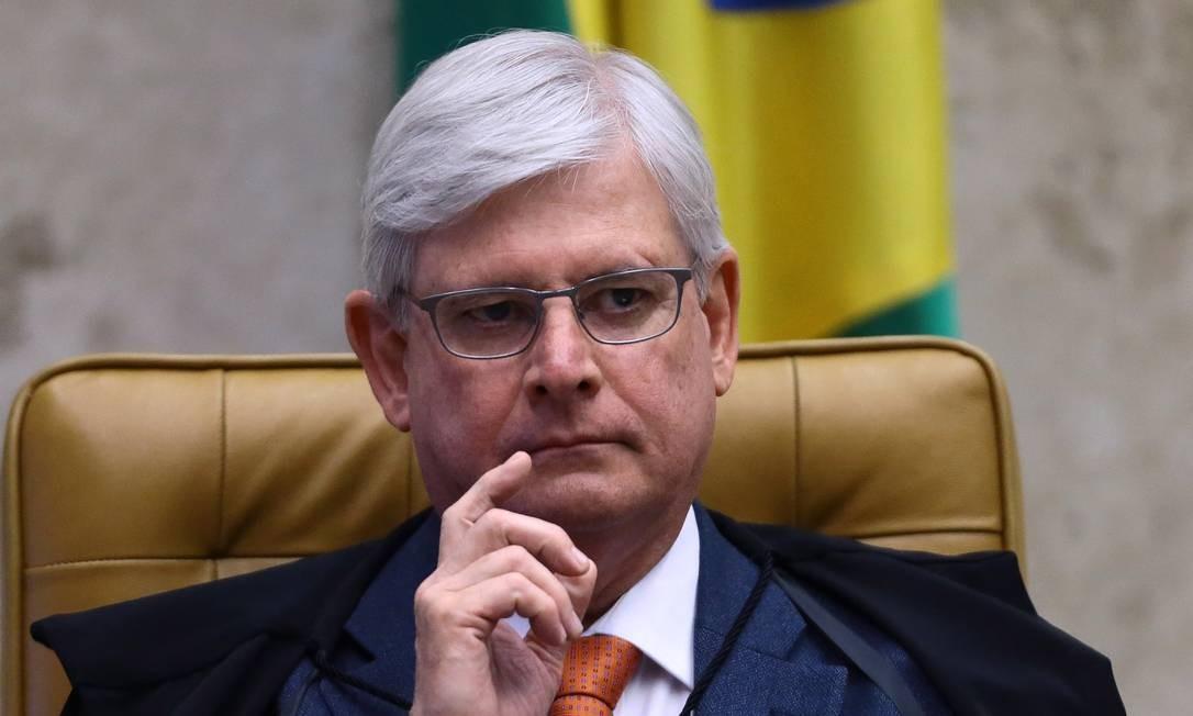Rodrigo Janot participa da sessão plenária do Supremo Tribunal Federal Foto: Jorge William/Agência O Globo/14-09-2017