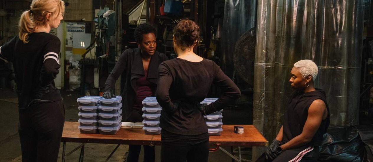 """Cena de """"As viúvas"""", filme a ser exibido no Festival de Toronto 2018 Foto: Divulgação"""