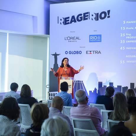 Lindália Junqueira, fundadora do movimento Juntospelo.Rio, propôs uma reconstrução digital do acervo do Museu Nacional Foto: Fabioi Cordeiro / Agência O Globo