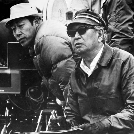 O cineasta Akira Kurosawa, em 1981 Foto: Arquivo