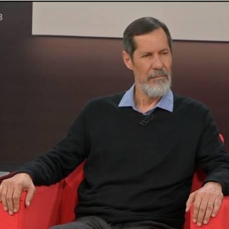 Eduardo Jorge (PV) durante entrevista na Central das Eleições Foto: Reprodução/GloboNews