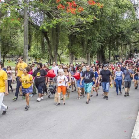 A Quinta da Boa Vista já foi um dos roteiros do projeto Rolé Carioca Foto: Divulgação