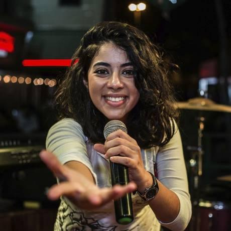 A vendedora Isabela Guimarães foi a campeã do mês de agosto Foto: Divulgação