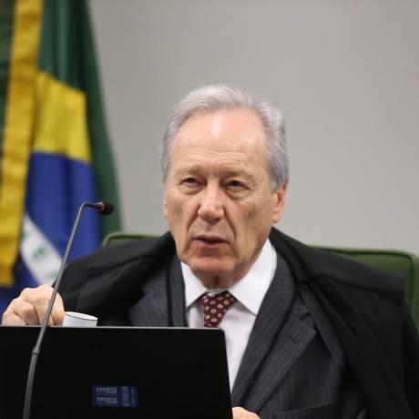 O ministro Ricardo Lewandowski, durante sessão da Segunda Turma Foto: Ailton de Freitas/Agência O Globo/04-09-2018