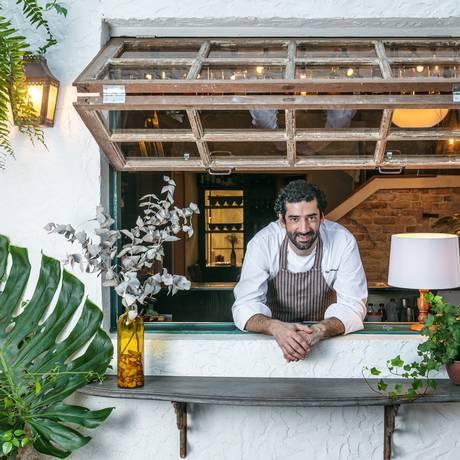 Foram vinte anos de estrada antes de Nello Garaventa abrir o restaurante Grado Foto: Divulgação/Tomás Rangel