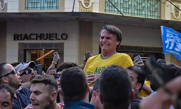 Resultado de imagem para atentado contra Bolsonaro
