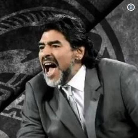 Maradona vai dirigir time do México Foto: Reprodução