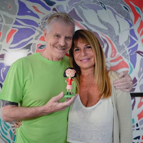 charlotte no youtube Foto: Divulgação/Claudio Pepper / História de amizade. Falabella lança seu primeiro livro como escritor infantil, ilustrado pela amiga Vivian Suppa