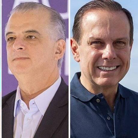 Candidatos ao governo de São Paulo Foto: Agência O Globo