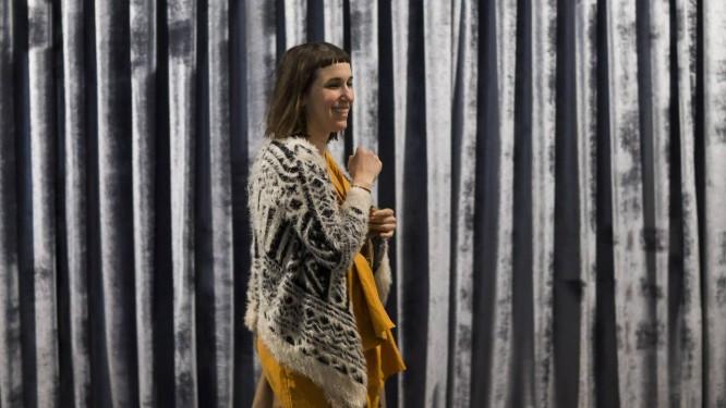 A artista e curadora Sofia Borges Foto: Edilson Dantas / Agência O Globo