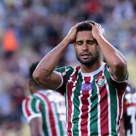 Kayke ainda não marcou pelo Fluminense Foto: Lucas Tavares