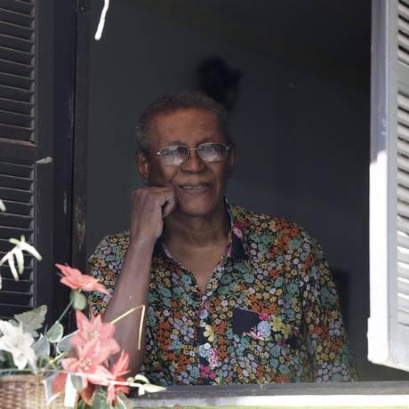 O sambista Wilson Moreira Foto: Gustavo Miranda / O Globo