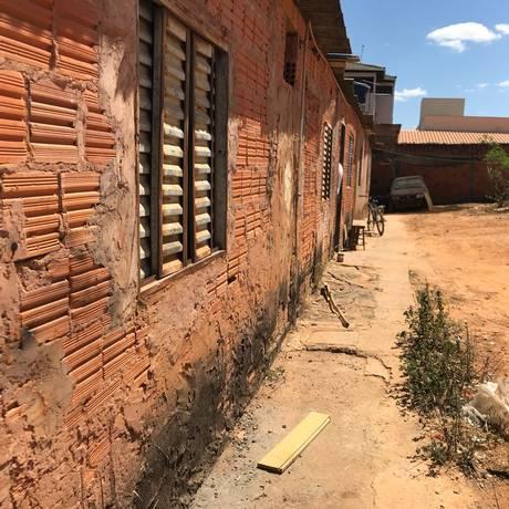 Casa da família do agressor de Jair Bolsonaro, em Montes Claros, Norte de Minas Gerais Foto: Thiago Herdy / Agência O Globo