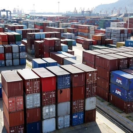 Trump ameaçou impor tarifas sobre quase todos os produtos chineses Foto: CHINA STRINGER NETWORK / REUTERS