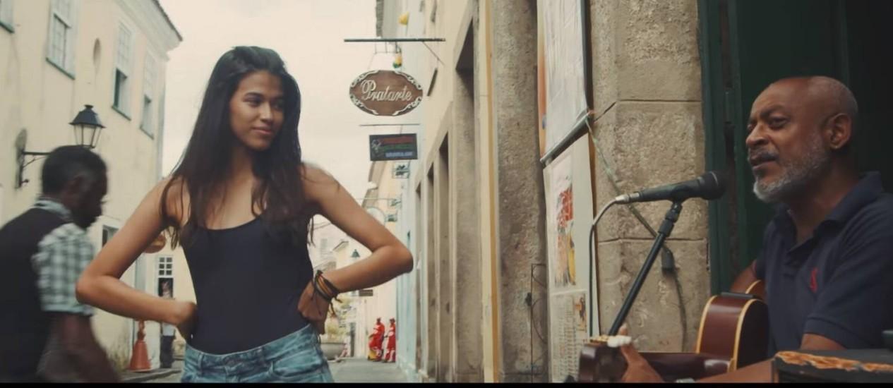 Imagem do clipe de Paul McCartney 'Back in Brazil', gravado em Salvador Foto: Reprodução