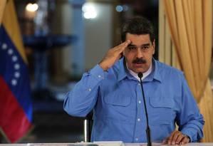 Plano dos conspiradores era remover o presidente da Venezuela, Nicolás Maduro, e instalar governo provisório até eleições Foto: HANDOUT / REUTERS