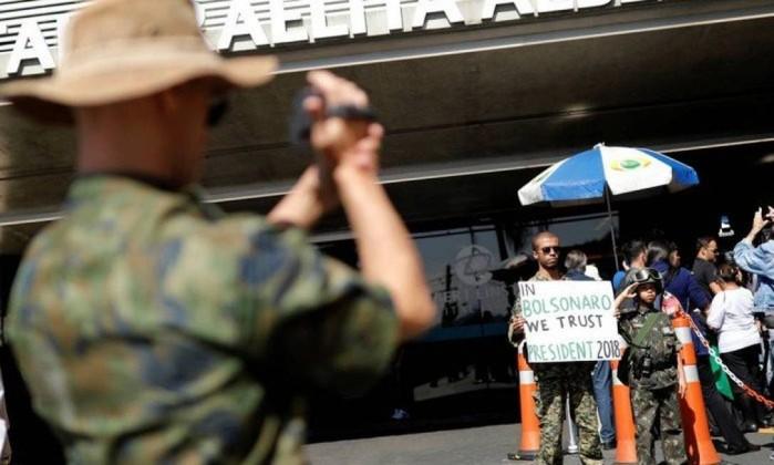 Jair Bolsonaro internado no Albert Einstein Foto: Nacho Doce / Reuters
