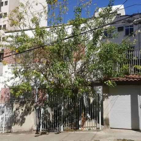 A fachada da pensão em que Adélio se hospedou Foto: Agência O Globo