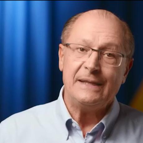 O candidato Geraldo Alckmin Foto: Reprodução