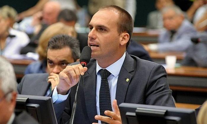 Eduardo Bolsonaro Foto: Divulgação / Agência Câmara