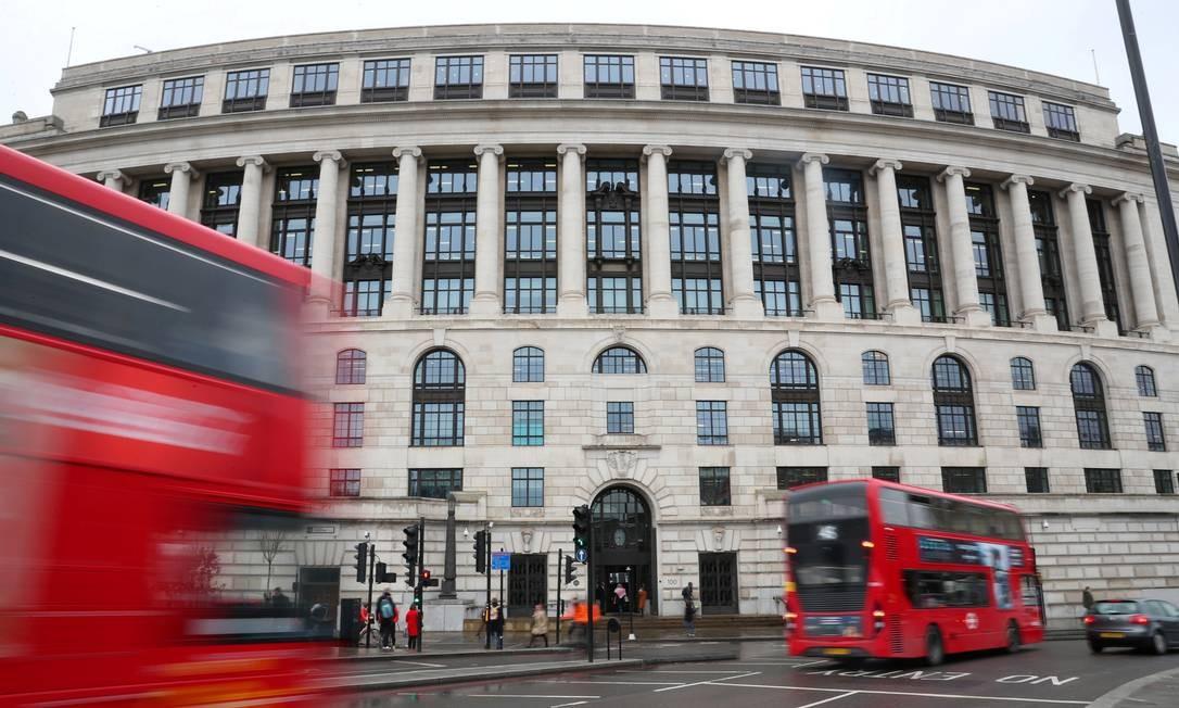 Foto: O prédio da Unilever no centro de Londres / REUTERS