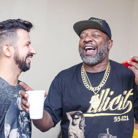 Dennis e Mr. Catra Foto: Divulgação/João Gomes