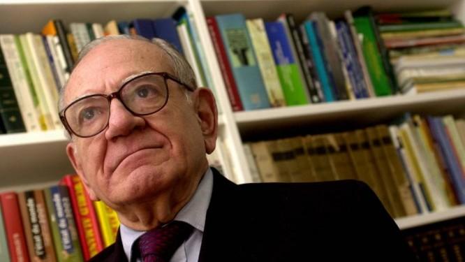 Helio Jaguaribe morreu aos 95 anos Foto: Nelson Pérez / Valos