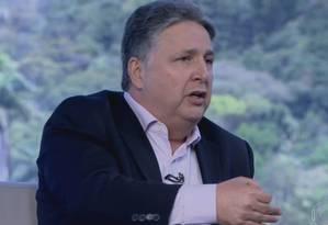 Garotinho em sabatina da TV Globo Foto: Reprodução