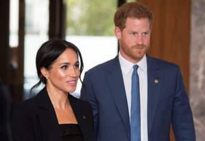 Harry e Meghan Foto: VICTORIA JONES / AFP