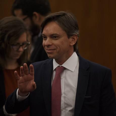 O advogado Luiz Fernando Pereira atua na área eleitoral para o PT Foto: Daniel Marenco / Agência O Globo (31/08/2018)
