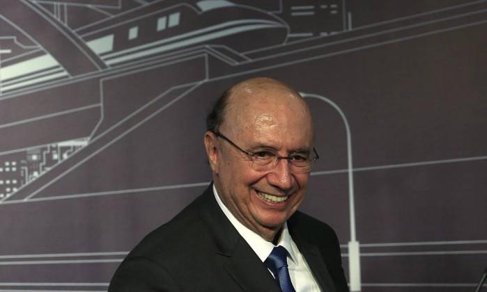 O presidenciável Henrique Meirelles Foto: Edilson Dantas / Agência O Globo